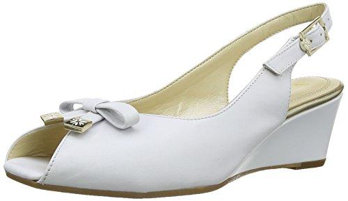 Van Dal Meade - Alpargata de cuero Mujer blanco - White (Bright White)