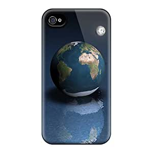Iphone 6 Cases Slim [ultra Fit] 3d Mini Earth Protective Cases Covers
