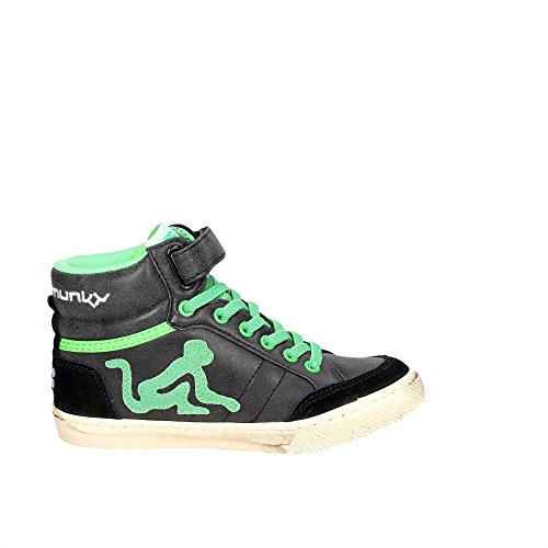 Boston Camu DrunknMunky Alto Sneaker Bambino Nero Collo Verde a OgBxBan