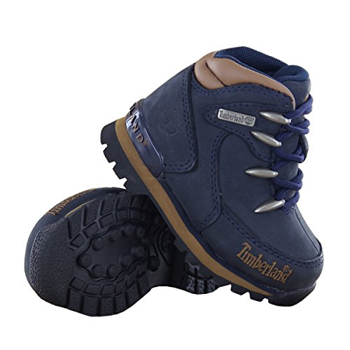 Timberland Euro Rock Hkr, Jungen Hohe Sneakers Marineblau