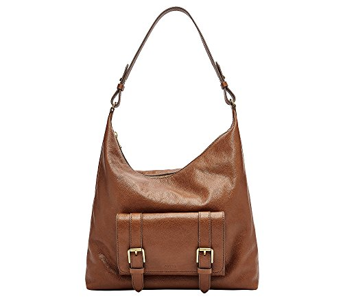 Fossil Cleo Hobo Handbag, Brown by Fossil