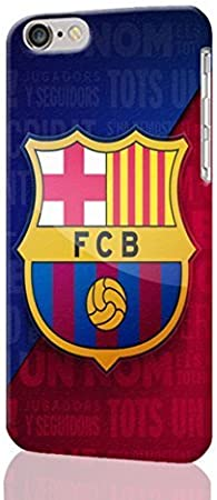 barcelona escudo Personalized Diy Custom Unique 3D Rough Hard Case Cover Skin For iPhone 6 Case, iPhone 6 4.7