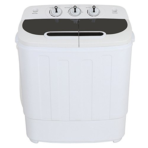Price comparison product image Generic ct Twin Portable Mini Compact le Mini Com Washing Machine n Tub Washer Spin Washer Twin Tub asher Sp Dryer White