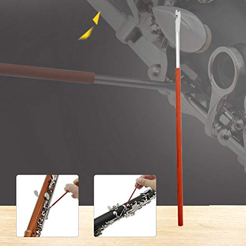 hAohAnwuyg Bass Cello String,Musical Instruments,Woodwind Spring Hook Saxophone Clarinet Oboe Flute Piccolo Bassoon Repair Tool