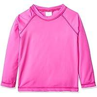 Camiseta Praia Manga Longa, Tiptop, Pink, 2T