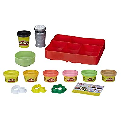 Play-Doh Kitchen Creations Sushi Play Food Set for Kids 3 Years and Up with Bento Box and 9 Non-Toxic Cans: Toys & Games