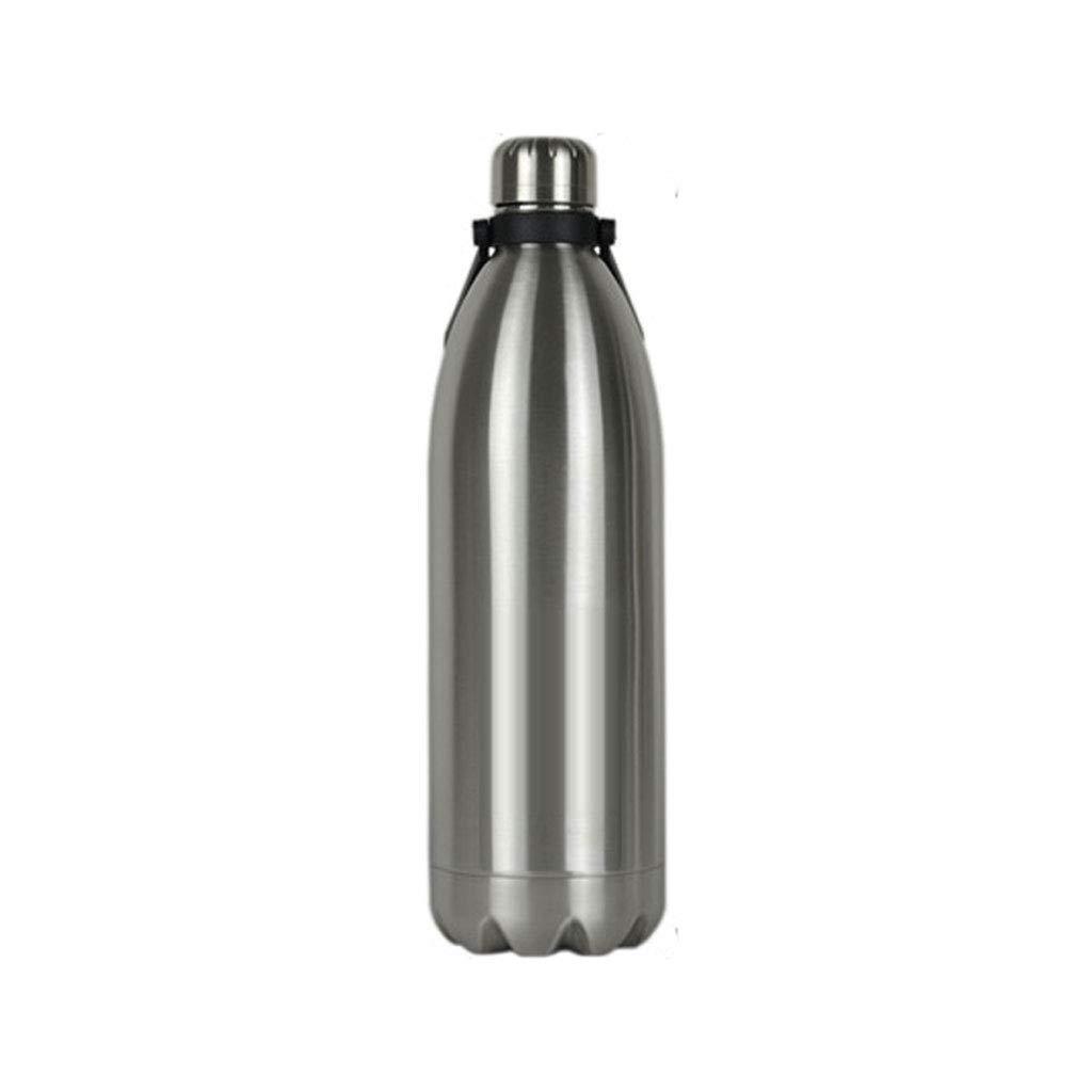 FYCZ Isolierung Wasserkocher Krug, 304 Edelstahl Große Kapazität Vacuum Cup Outdoor Sports Auto Flasche Camping selbstfahrende 1.8L