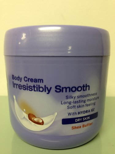 Nivea Irresistibly Smooth Body Cream Dry Skin Shea Butter 40