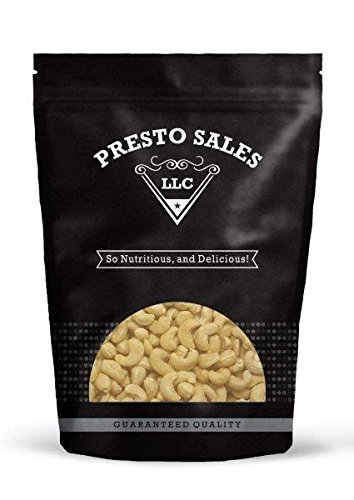 Cashew, Whole Raw (2 lbs.) by Presto Sales LLC Review