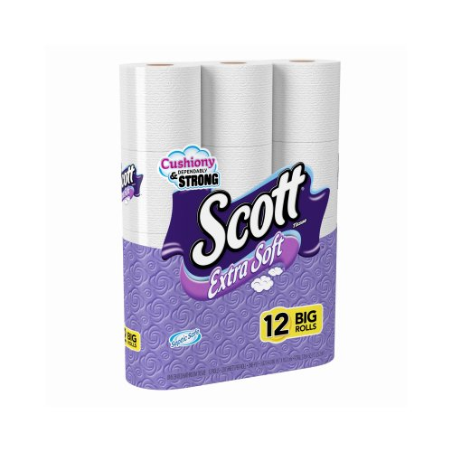 KIMBERLY-CLARK CORP Scott Extra Soft, Big Roll Bath Tissue,1