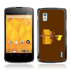 Designer Depo Hard Protection Case for LG Nexus 4 E960 / Bird