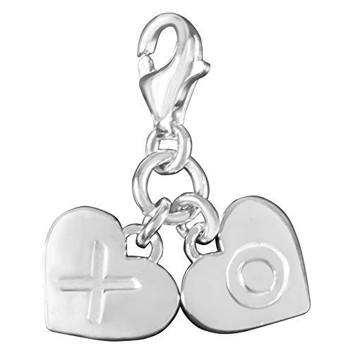 Thomas Sabo 1314-001-12 Charme pendentif en argent en forme de cœur