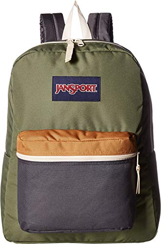 JanSport Unisex Exposed Muted Green/Soft Tan One Size