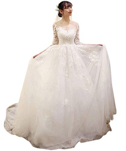 Trapecio Para Mujer Blanco 46 Vestido Vimans 61fqBB