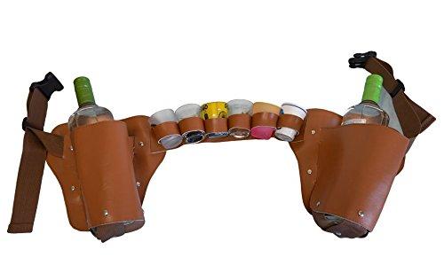 Liquor holster Booze Belt Shotcha Bandolier Bandolero Belt handmade