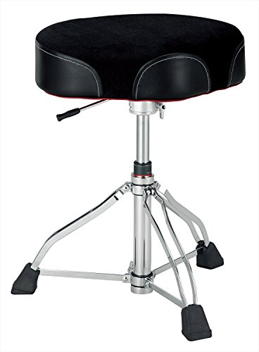 Tama 1st Chair Ergo-Rider Drum Throne Hydraulix Cloth, used for sale  Delivered anywhere in USA