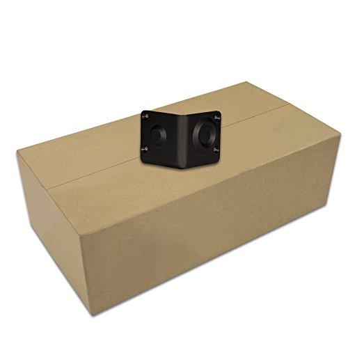 goldwood sonido gc-401ABS negro gabinete plástico esquinas funda de 500apilable altavoz esquinas