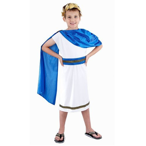 Greek God Costumes Poseidon - Henbrandt Boys Costume: Caesar (Large 10-12