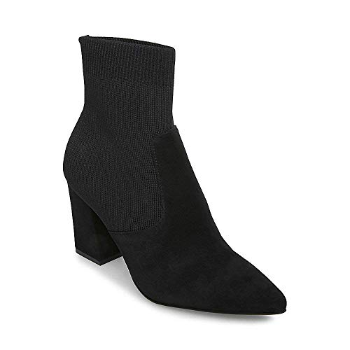 9 Dress Steve Women's Us Bootie Suede Reece Black 5 Madden xgxHn1