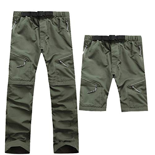 Muramba Clearance Men Outdoor Thin Detachable Quick Dry Waterproof Pants