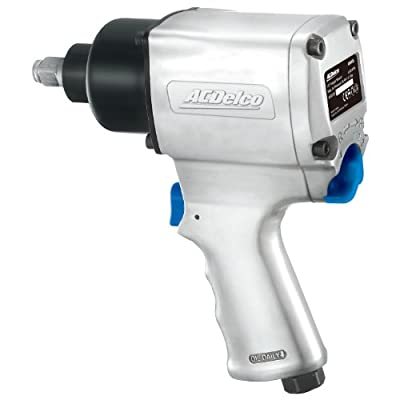 ACDelco ANI405 1/2-inch Impact Wrench Pneumatic Tool, 500 ft-lbs, TWIN HAMMER from Durofix Inc.