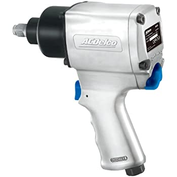 ACDelco ANI405 1/2-inch Impact Wrench Pneumatic Tool, 500 ft-lbs, TWIN HAMMER