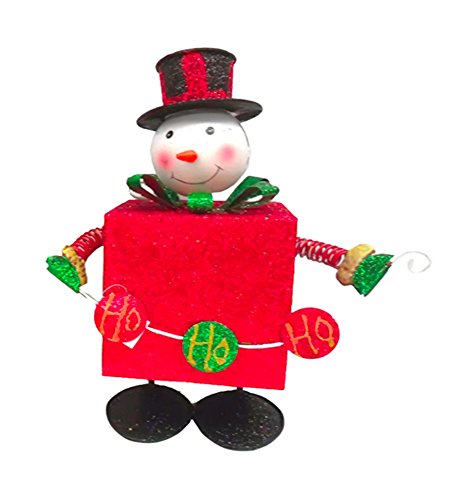 Bouncing Snowman with Present (Bouncing Snowman)