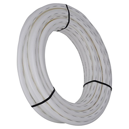 SharkBite 1-Inch PEX Tubing, 100 Feet, WHITE, for Residential and Commercial Potable Water Applications