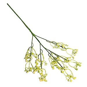 1Pcs Babys Breath Artificial Flowers, Gypsophila Real Touch Flowers for Wedding Party Home Garden Decoration Decor 96