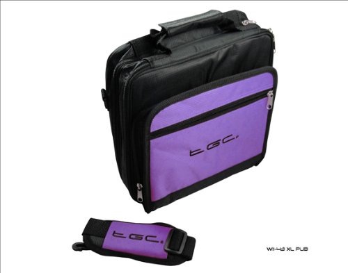 and Samsung 10 Case Purple for Deluxe Black Tablet Bag 1 Twin New Carry compartment Electric Galaxy PxqOwO8E