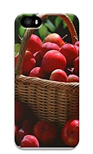 Case For Iphone 5/5S Cover A Basket Of Plums 3D Custom Case For Iphone 5/5S Cover