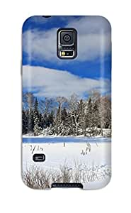 Special Design Back Winter Earth Nature Winter Phone Case Cover For Galaxy S5