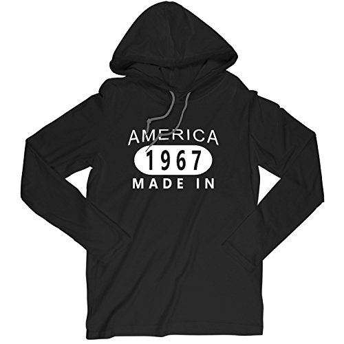 51st Birthday Gift Made In America Born In 1967 Large T-Shirt Hoodie
