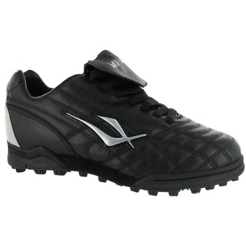 Mirak Forward Mens Astro Turf Sport Shoes/Football/Rugby Boots (10 US) (Black)