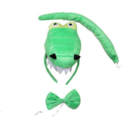 Kirei Sui Dinosaur 3D Headband Costume Set