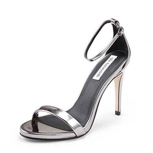 Travail Guncolor Yra Sauvages Femmes Romaines Talons Hauts Chaussures Femmes Chaussures Nouvelles Sandales Le Pour Aiguilles Talons Mots D'été rH8ar