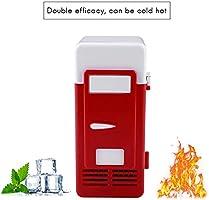 Hihey Mini Cool Box Mini Refrigerador USB Gadget Latas de Bebida ...