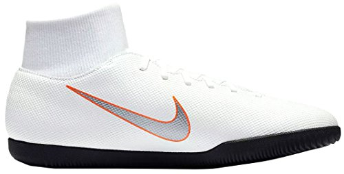 Football Blanc Chaussures Mixte 10 de Orange Club X Ah7371 Superfly Mercurial IC 6 Nike Adulte xPf8OZvqx