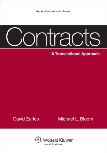Contracts: A Transactional Approach