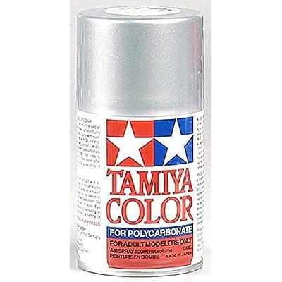 Tamiya America, Inc Polycarbonate PS-41 Bright Silver, Spray 100 ml, TAM86041: Toys & Games