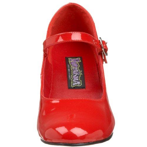 con para SCHOOLGIRL Zapatos tacón Rojo mujer Funtasma 50 qcR14nB1t