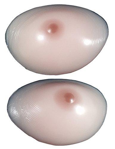ENVY BODY SHOP Silicone Breast Enhancer with Nipple Transvestites Nude XL