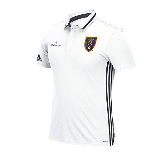 MLS Colorado Rapids Men's Sideline Team Polo (White, Medium)