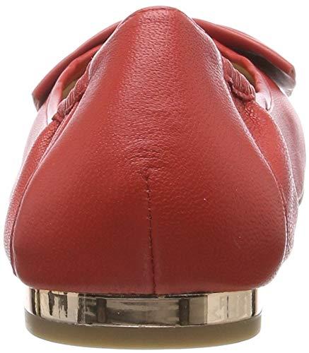 Alba Tacón Rojo Para Zapatos 501 Caprice De red Mujer Nappa FwgWB
