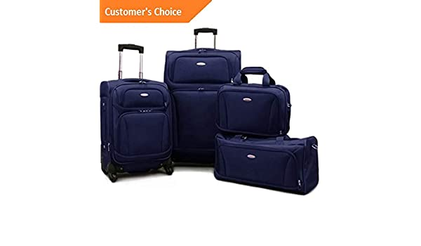 Amazon.com | Sandover Premium 4 Piece Lightweight Spinner gage Set (20 28) | Model LGGG - 11854 | | Luggage Sets