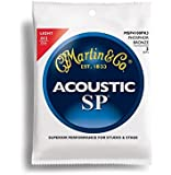Martin アコースティックギター弦 SP ACOUSTIC (92/8 Phospher Bronze) Multi Packs MSP-4100 PK3 Light .012-.054