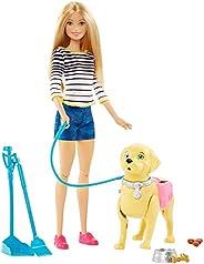 Barbie Passeio Com Cachorrinho Mattel Loira