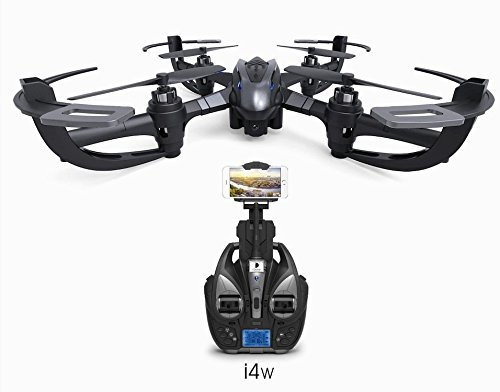 SAVA i4w WiFi FPV Drone with 0.3MP Camera Live Video Headless Mode&3D Flip&One Key Return Home RTF RC Quadcopter (Newest Model of 2017) Super Gift Idea