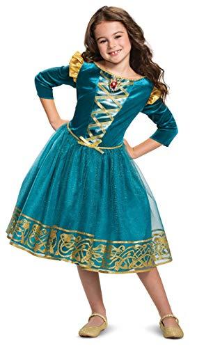 Merida Classic Disney Princess Girls Costume Blue]()