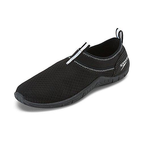 Speedo Women's Tidal Cruiser Water Shoes Black/White 8